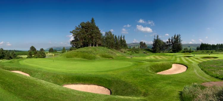 Scottish Golf Vacation Gleneagles