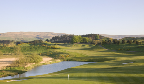 Gleneagles Golf tour