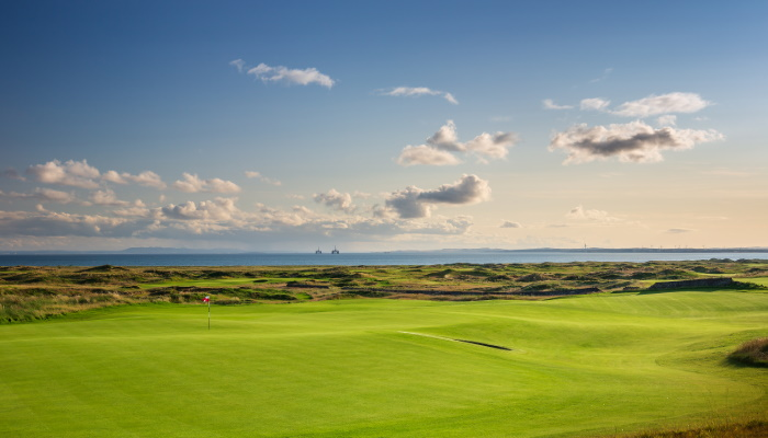 Dumbarnie Scotland golf tour