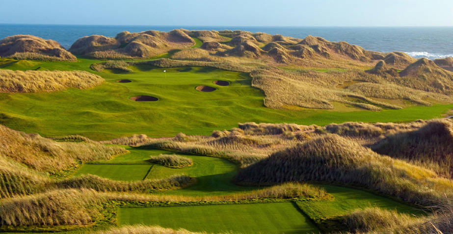 Trump International Golf Links, Scotland, 13th Bottom Slider