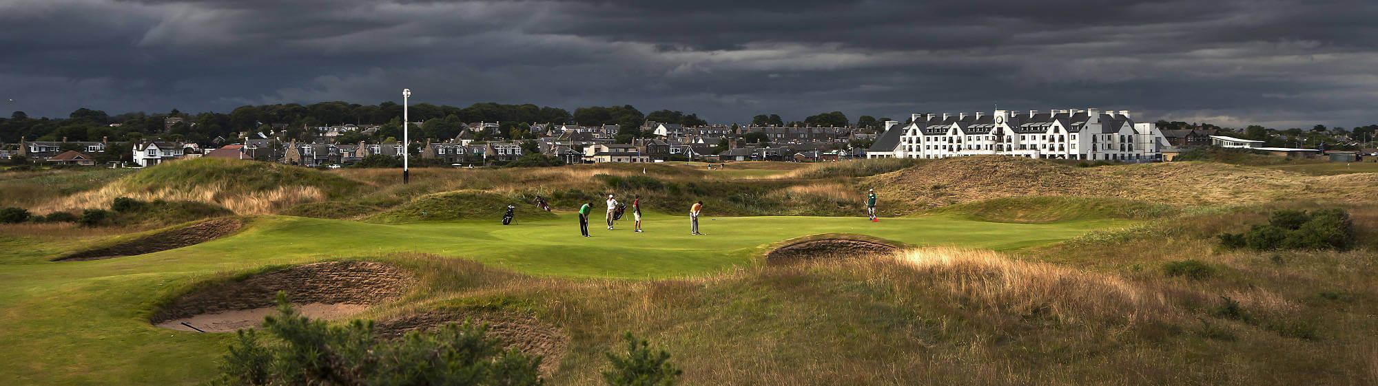 Luxury golf vacations