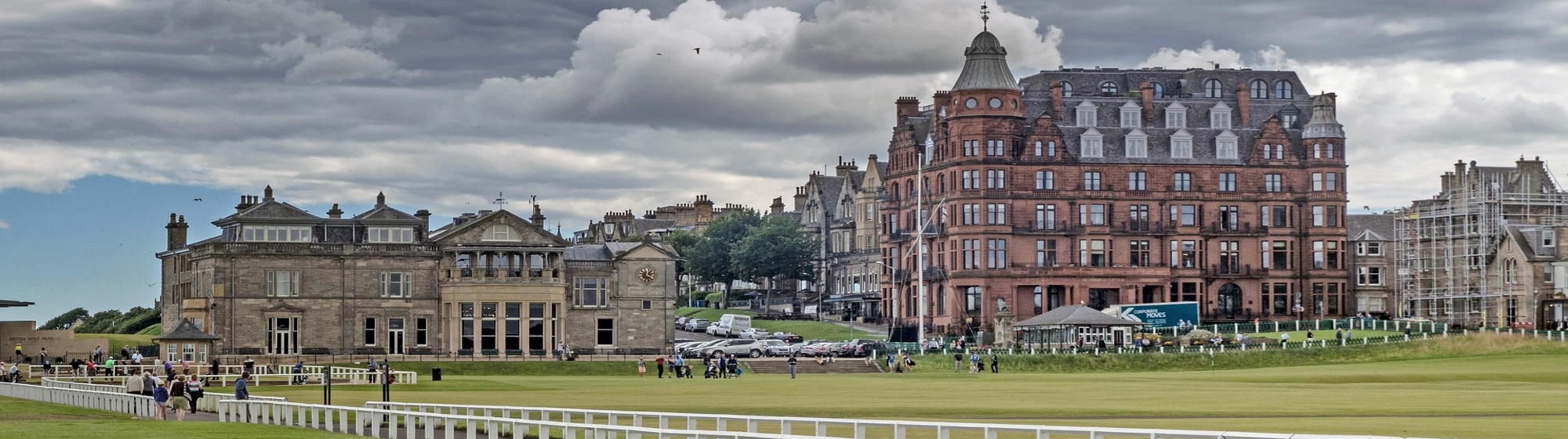 Old Course golf tour